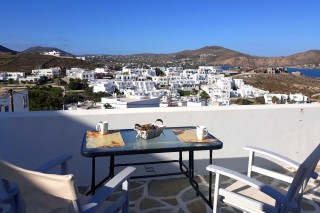 paros studios athina with sea view