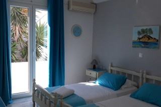 room 2 athina studios bedroom