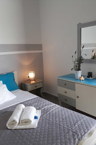 studio 7 athina bedroom